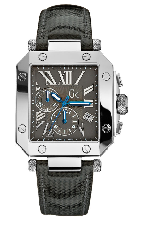 GC A50006G2 Ανδρικό Ρολόι Quartz Χρονογράφος Ακριβείας