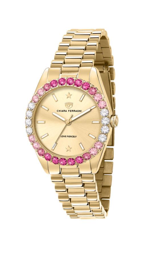 CHIARA FERRAGNI R1953100501 Γυναικείο Ρολόι Quartz Ακριβείας