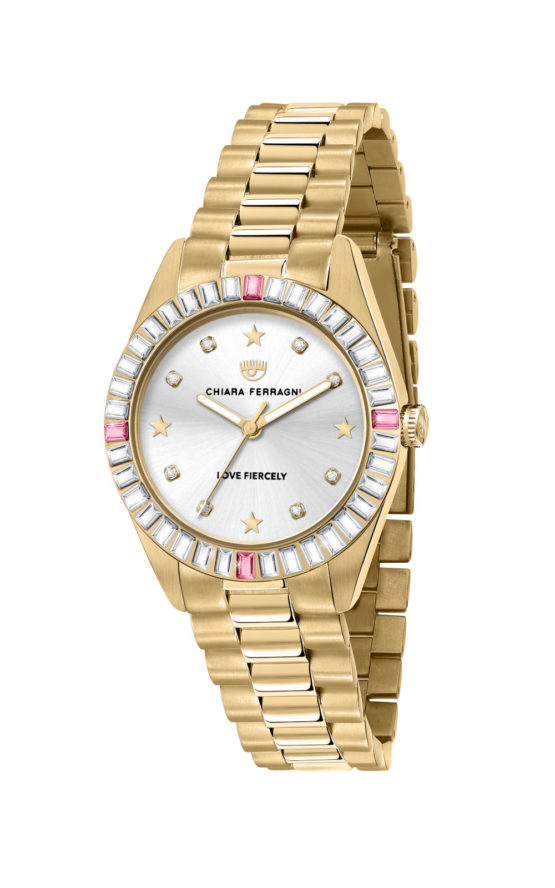 CHIARA FERRAGNI R1953100503 Γυναικείο Ρολόι Quartz Ακριβείας