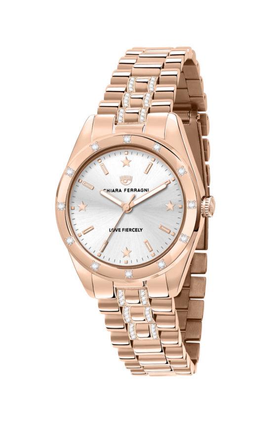 CHIARA FERRAGNI R1953100506 Γυναικείο Ρολόι Quartz Ακριβείας