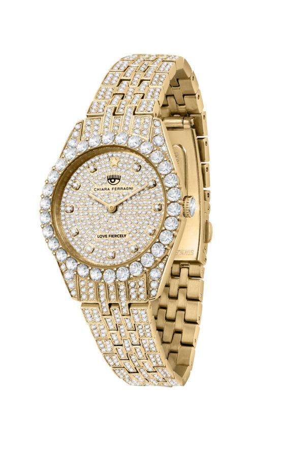 CHIARA FERRAGNI R1953100507 Γυναικείο Ρολόι Quartz Ακριβείας