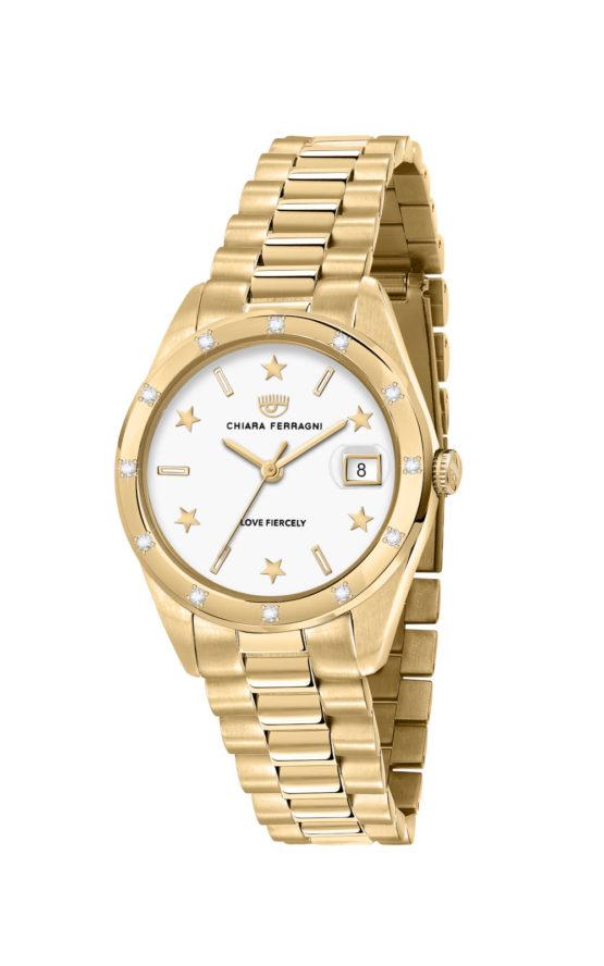 CHIARA FERRAGNI R1953100508 Γυναικείο Ρολόι Quartz Ακριβείας
