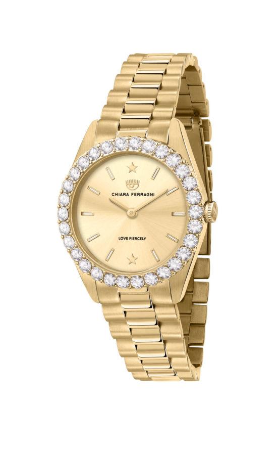 CHIARA FERRAGNI R1953100509 Γυναικείο Ρολόι Quartz Ακριβείας