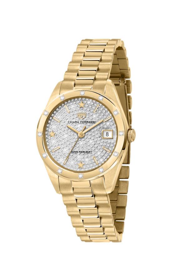 CHIARA FERRAGNI R1953100512 Γυναικείο Ρολόι Quartz Ακριβείας