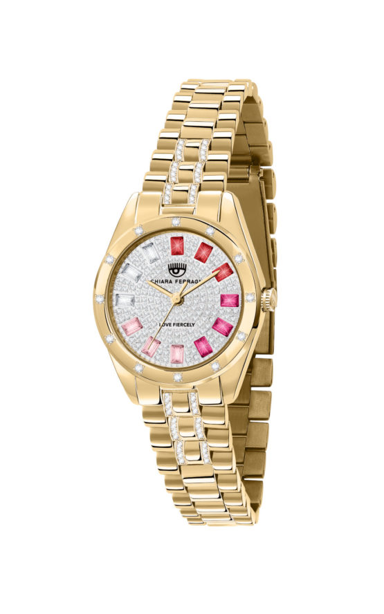 CHIARA FERRAGNI R1953100515 Γυναικείο Ρολόι Quartz Ακριβείας
