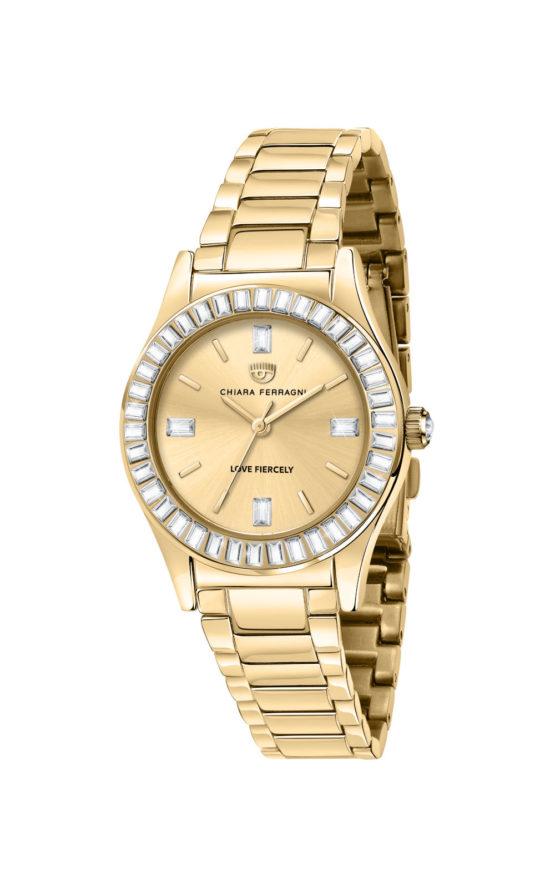 CHIARA FERRAGNI R1953102501 Γυναικείο Ρολόι Quartz Ακριβείας
