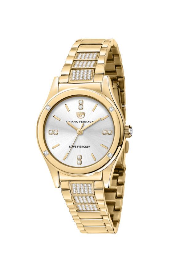 CHIARA FERRAGNI R1953102506 Γυναικείο Ρολόι Quartz Ακριβείας