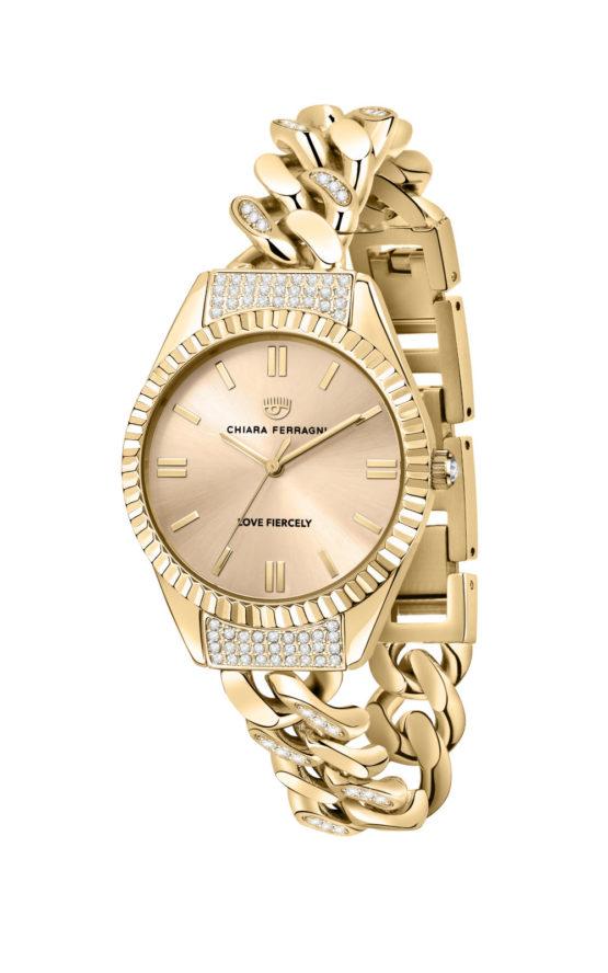 CHIARA FERRAGNI R1953104501 Γυναικείο Ρολόι Quartz Ακριβείας