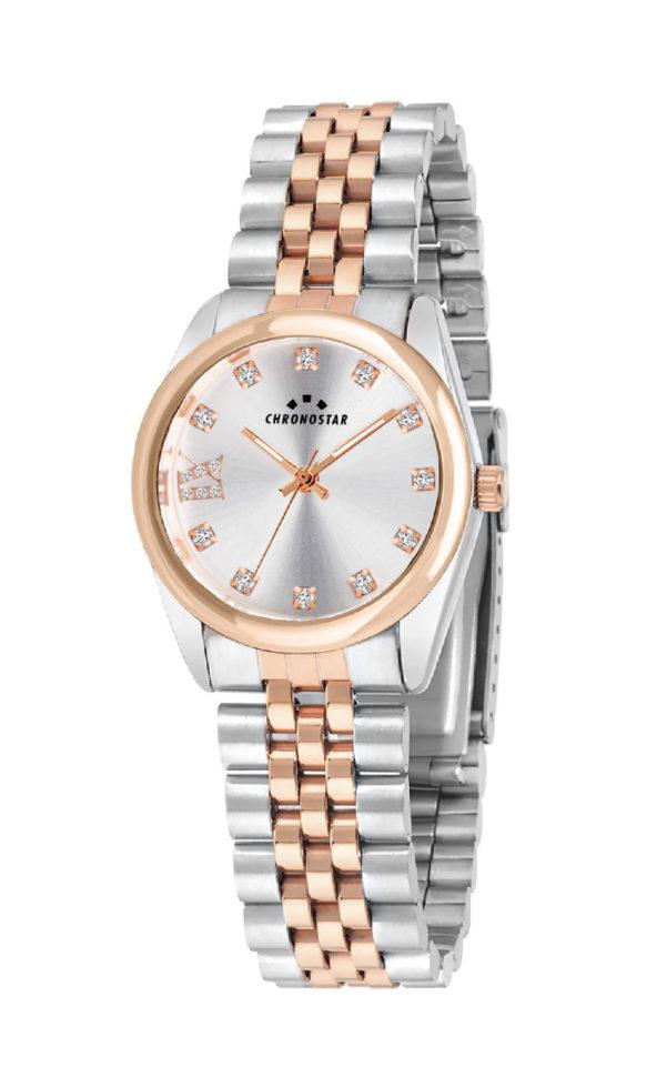 CHRONOSTAR R3753241518 Γυναικείο Ρολόι Quartz Ακριβείας