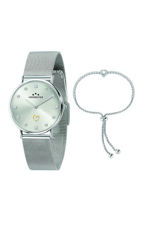 CHRONOSTAR R3753252512 Γυναικείο Ρολόι Quartz Ακριβείας