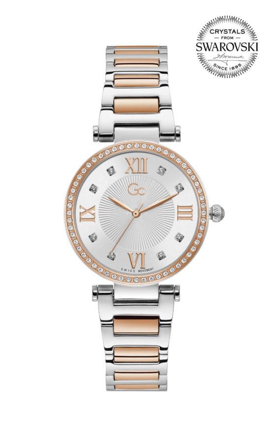 GC LadyCrystal Y64001L1MF Γυναικείο Ρολόι Quartz Ακριβείας