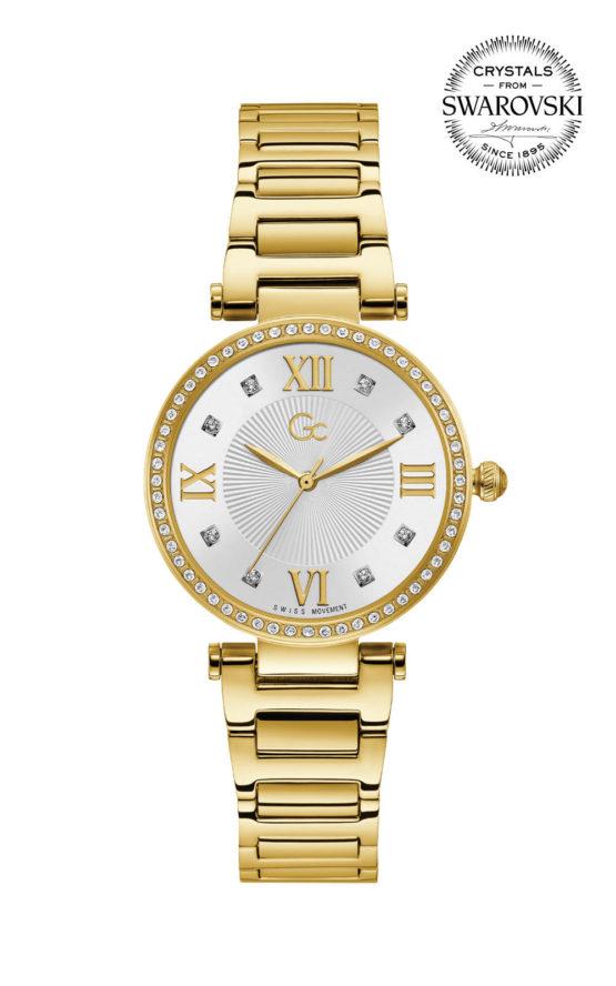 GC LadyCrystal Y64003L1MF Γυναικείο Ρολόι Quartz Ακριβείας