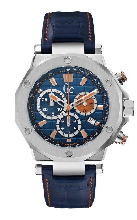 GC X72029G7S Ανδρικό Ρολόι Quartz Χρονογράφος Ακριβείας