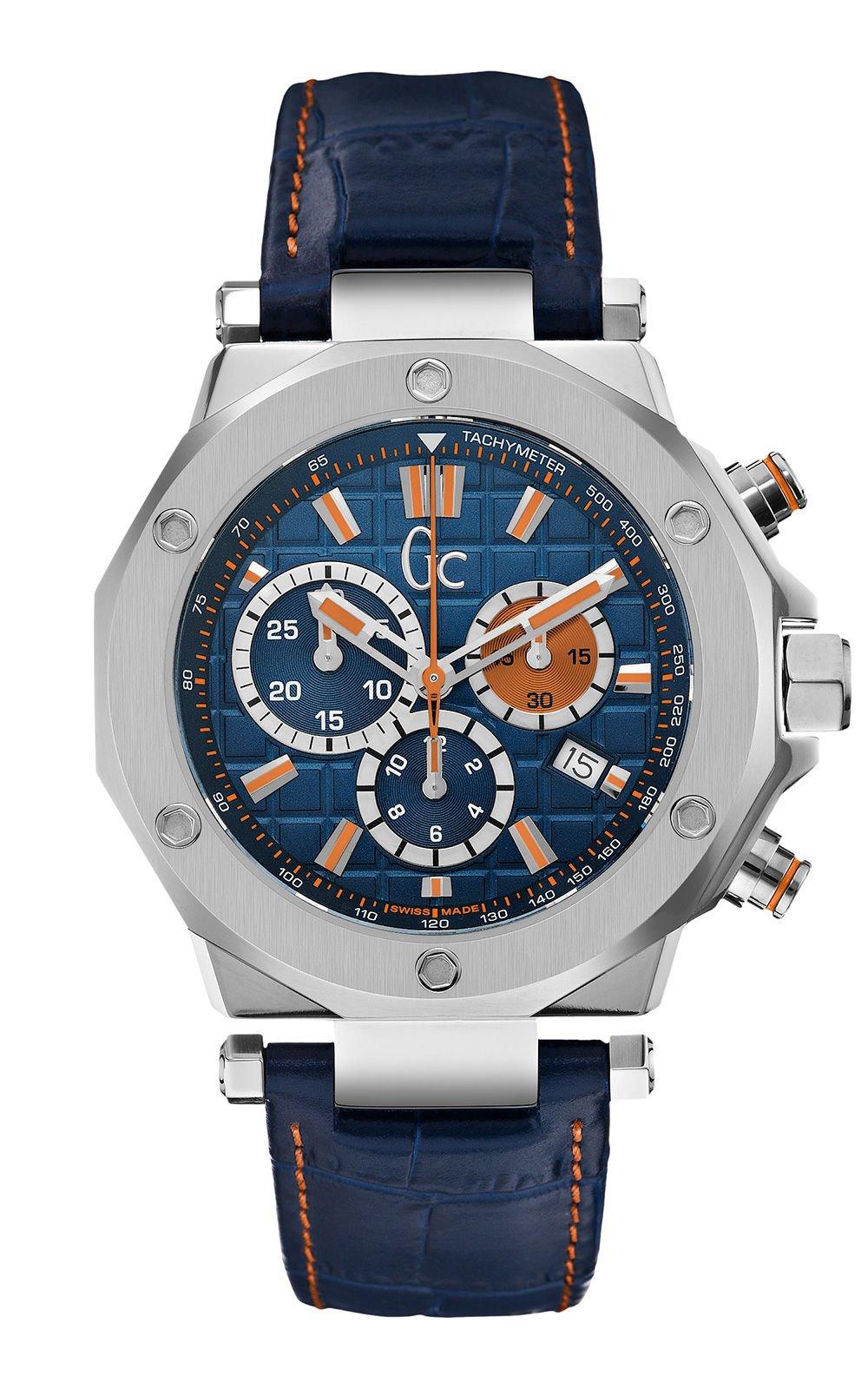 GC X72029G7S Ανδρικό Ρολόι Quartz Χρονογράφος Ακριβείας 1c8e8555c24