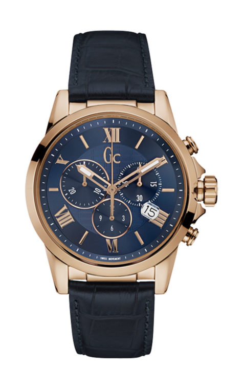 GC Y08003G7 Ανδρικό Ρολόι Quartz Χρονογράφος Ακριβείας
