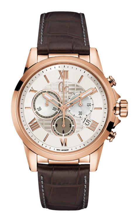 GC Y08006G1 Ανδρικό Ρολόι Quartz Χρονογράφος Ακριβείας