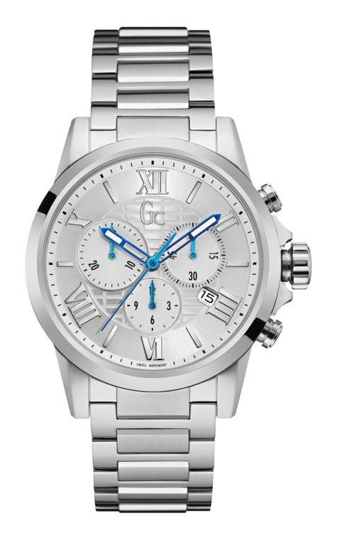 GC Y08007G1 Ανδρικό Ρολόι Quartz Χρονογράφος Ακριβείας