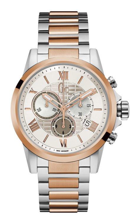 GC Y08008G1 Ανδρικό Ρολόι Quartz Χρονογράφος Ακριβείας