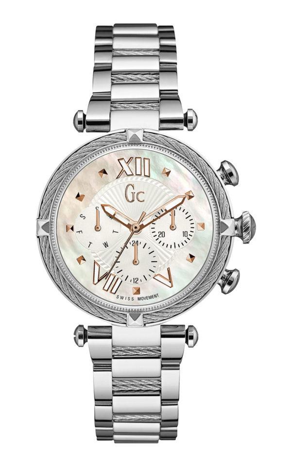 GC Y16001L1 Γυναικείο Ρολόι Quartz Χρονογράφος Ακριβείας