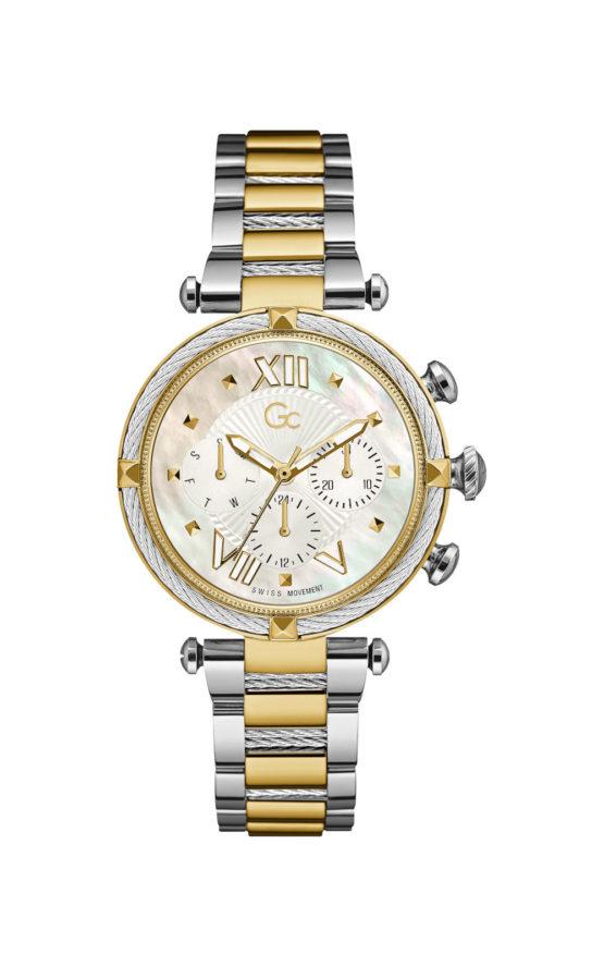 GC Y16020L1MF Γυναικείο Ρολόι Quartz Χρονογράφος Ακριβείας