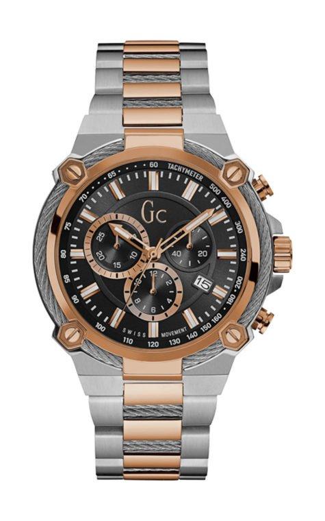 GC Y24002G2 Ανδρικό Ρολόι Quartz Χρονογράφος Ακριβείας