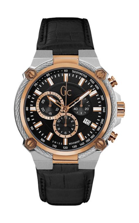 GC Y24005G2 Ανδρικό Ρολόι Quartz Χρονογράφος Ακριβείας