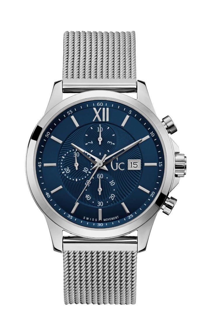 GC Y27005G7MF Ανδρικό Ρολόι Quartz Χρονογράφος Ακριβείας
