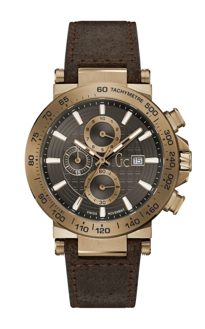 GC Y37001G5 Ανδρικό Ρολόι Quartz Χρονογράφος Ακριβείας
