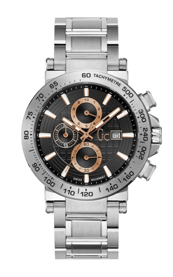 GC Y37005G2 Ανδρικό Ρολόι Quartz Χρονογράφος Ακριβείας
