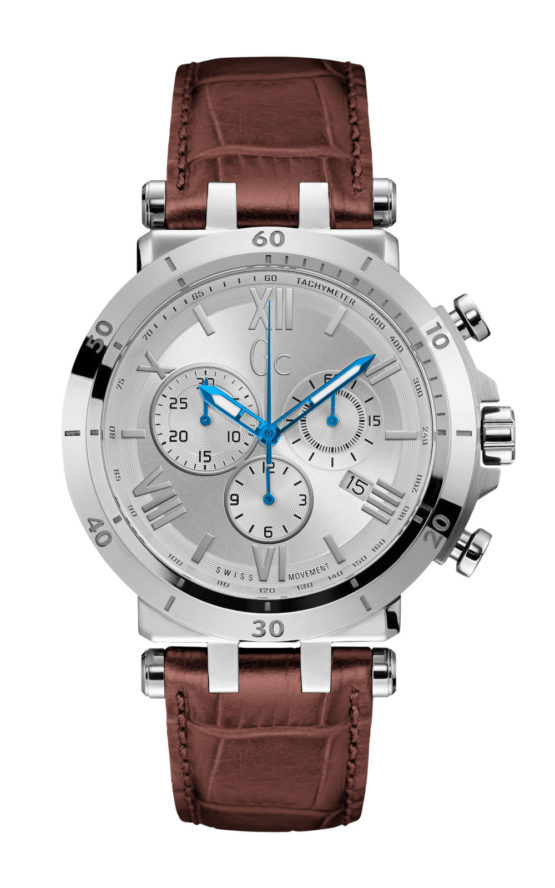 GC Y44001G1 Ανδρικό Ρολόι Quartz Χρονογράφος Ακριβείας