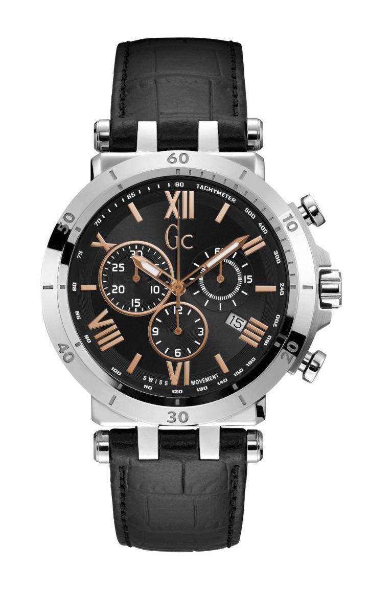 GC Y44002G2 Ανδρικό Ρολόι Quartz Χρονογράφος Ακριβείας