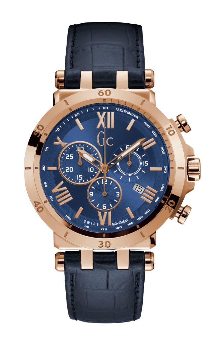 GC Y44003G7 Ανδρικό Ρολόι Quartz Χρονογράφος Ακριβείας