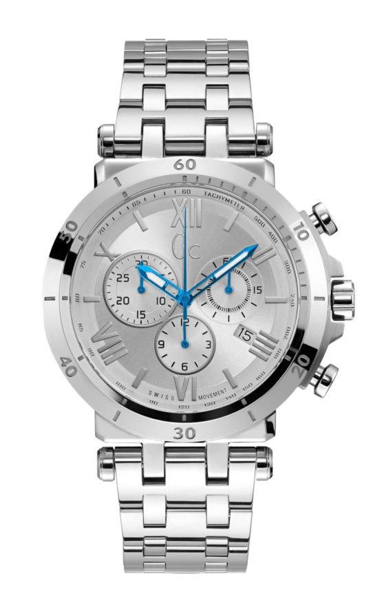 GC Y44004G1 Ανδρικό Ρολόι Quartz Χρονογράφος Ακριβείας