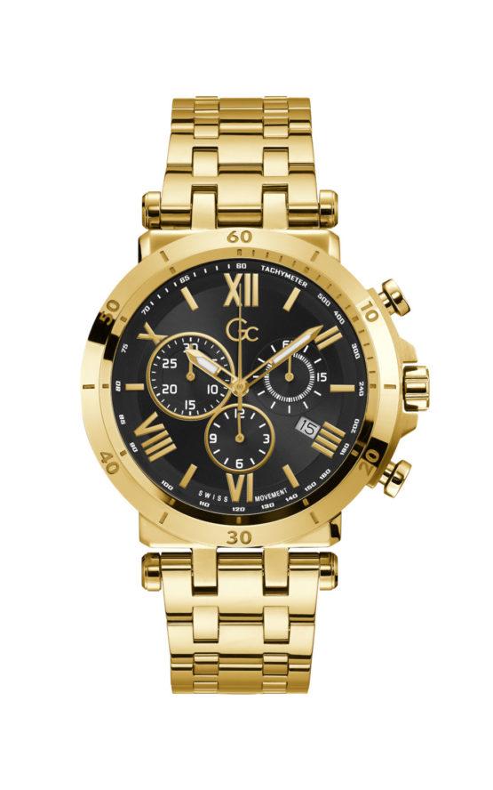 GC Y44006G2MF Ανδρικό Ρολόι Quartz Χρονογράφος Ακριβείας