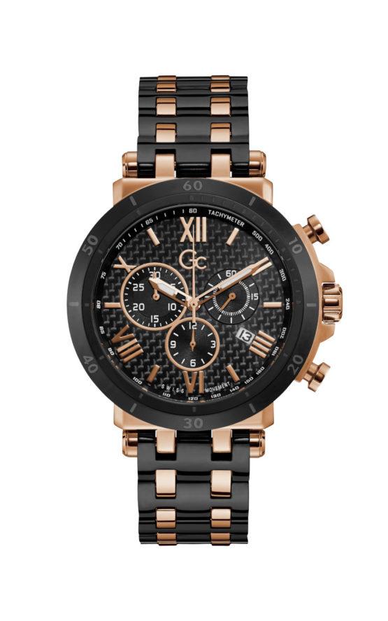 GC Y44007G2MF Ανδρικό Ρολόι Quartz Χρονογράφος Ακριβείας