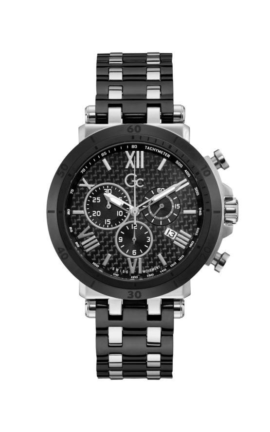 GC Y44008G2MF Ανδρικό Ρολόι Quartz Χρονογράφος Ακριβείας