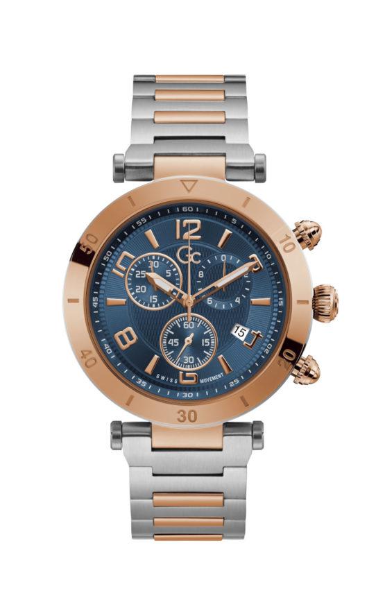 GC Y68004G7MF Ανδρικό Ρολόι Quartz Χρονογράφος Ακριβείας
