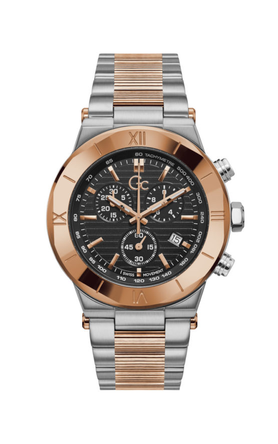 GC Y69003G2MF Ανδρικό Ρολόι Quartz Χρονογράφος Ακριβείας