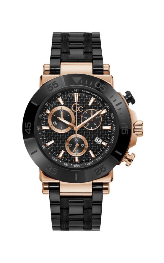 GC Y70002G2MF Ανδρικό Ρολόι Quartz Χρονογράφος Ακριβείας