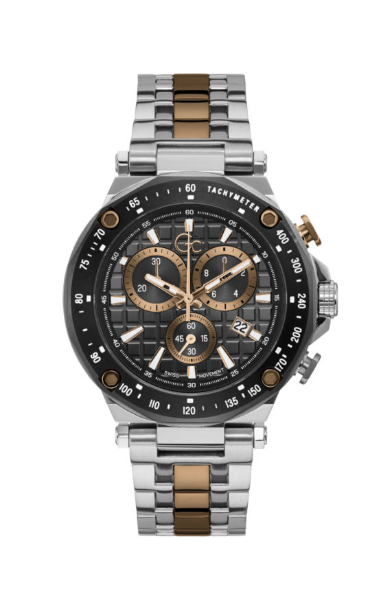 GC Y81002G5MF Ανδρικό Ρολόι Quartz Χρονογράφος Ακριβείας