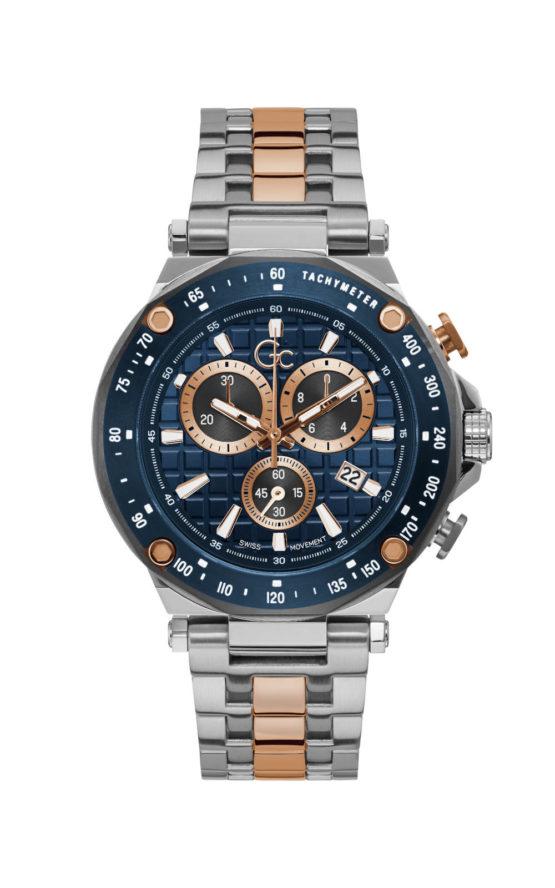 GC Y81003G7MF Ανδρικό Ρολόι Quartz Χρονογράφος Ακριβείας