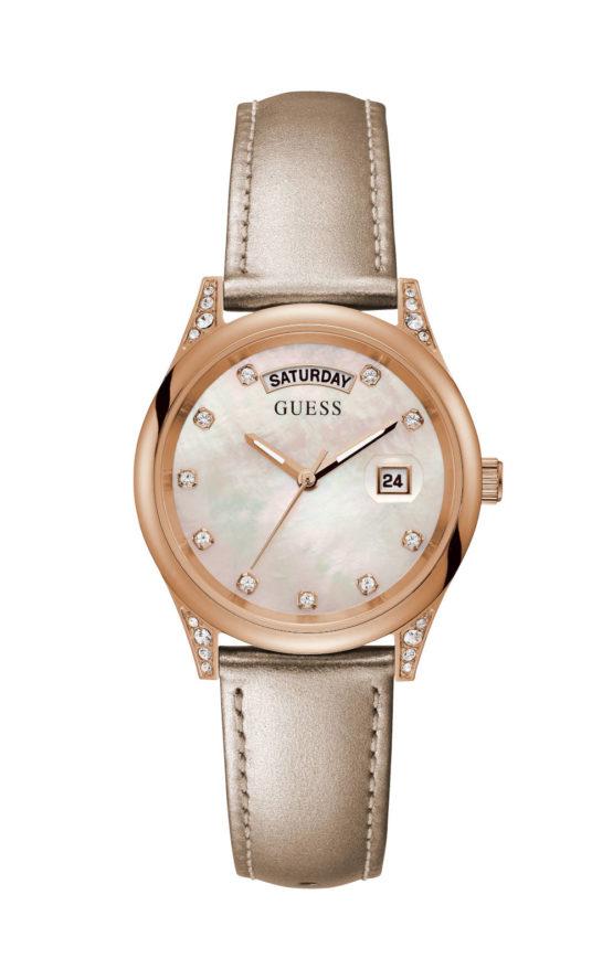 GUESS AURA GW0117L1 Γυναικείο Ρολόι Quartz Ακριβείας