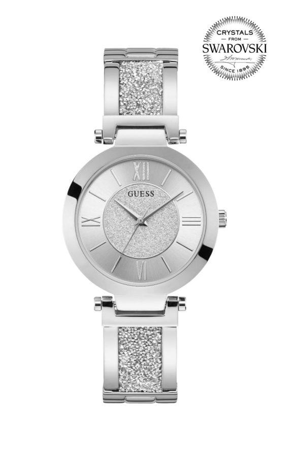 GUESS AURORA W1288L1 Γυναικείο Ρολόι Quartz Ακριβείας