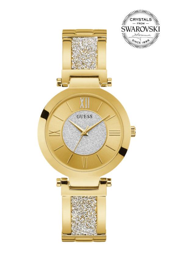 GUESS AURORA W1288L2 Γυναικείο Ρολόι Quartz Ακριβείας
