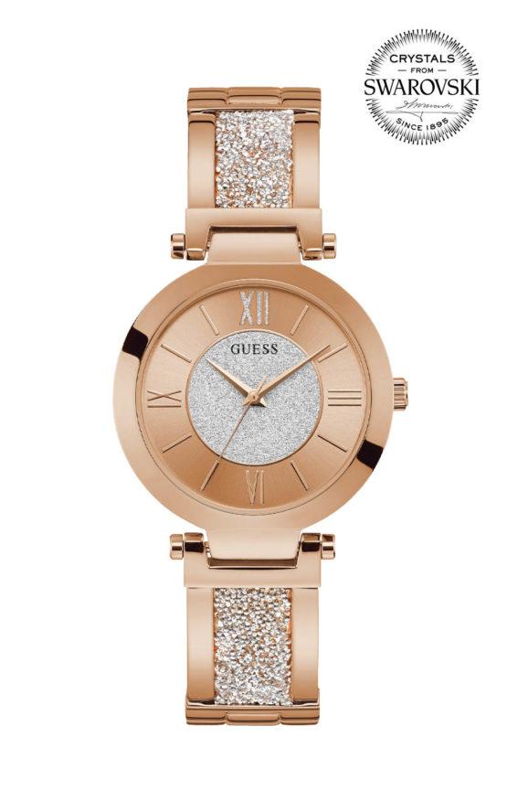 GUESS AURORA W1288L3 Γυναικείο Ρολόι Quartz Ακριβείας