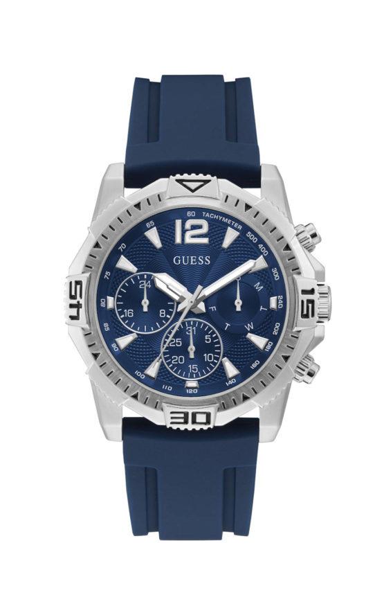 GUESS COMMANDER GW0211G1 Ανδρικό Ρολόι Quartz Χρονογράφος Ακριβείας