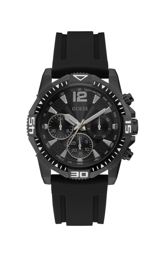 GUESS COMMANDER GW0211G3 Ανδρικό Ρολόι Quartz Χρονογράφος Ακριβείας