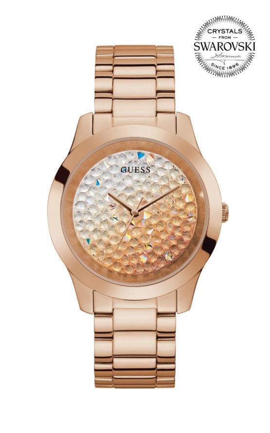 GUESS CRUSH GW0020L3 Γυναικείο Ρολόι Quartz Ακριβείας