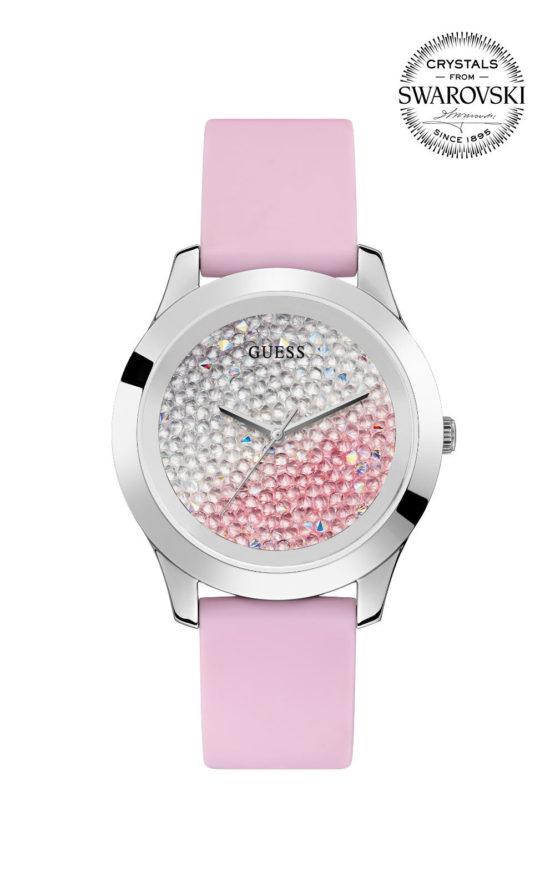 GUESS CRUSH W1223L1 Γυναικείο Ρολόι Quartz Ακριβείας