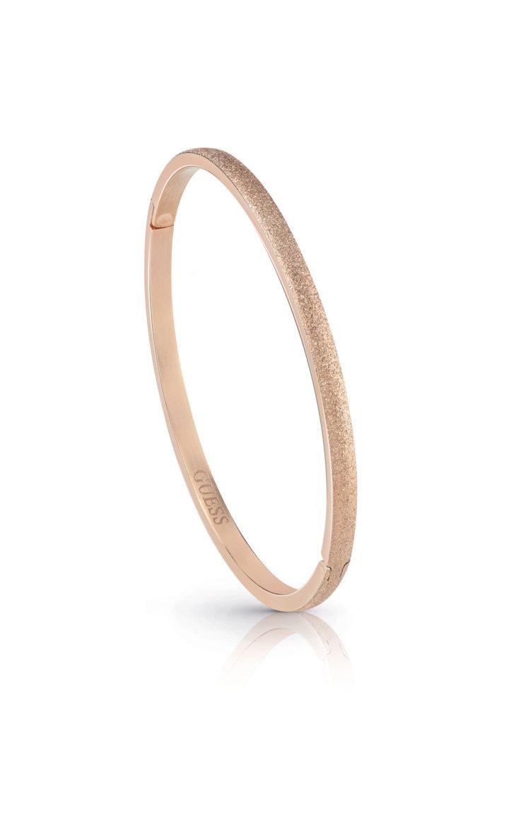 GUESS FAUX UBB28131-L Ροζ Χρυσό Βραχιόλι